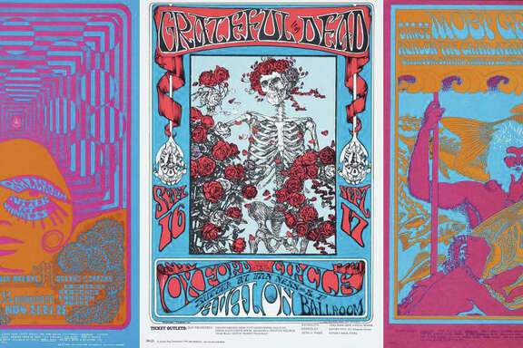 """The Summer of Love Experience: Art, Fashion, and Rock & Roll"" exhibit runs through Aug. 20 at the de Young Museum."