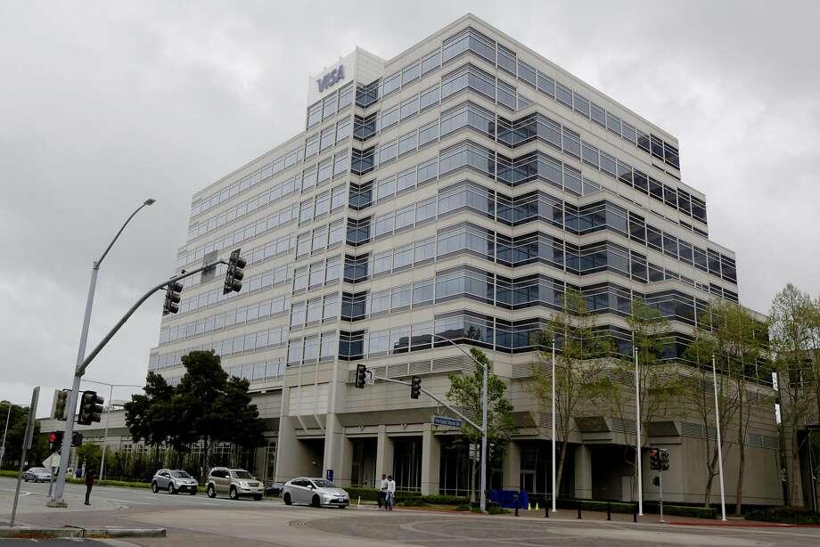 The Visa Global Headquarters in Foster City. Photo: Natasha Dangond, The Chronicle