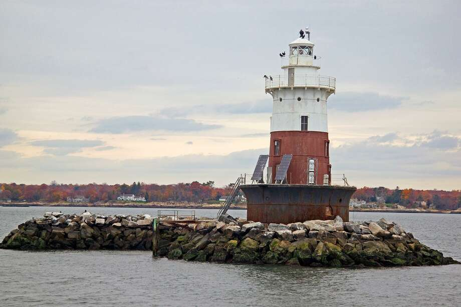 Greens Ledge Lighthouse Is One Of The Beacons Roached During Maritime Aquarium S Central Long Island