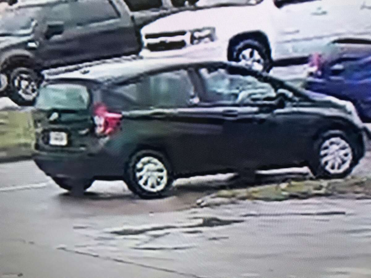 Possible planning The Baytown Police Department released photos of a suspect vehicle that authorities believe is related to the murder of lawman Clint Greenwood. Police say the car and a person of interest were seen in the days before the shooting near where the slaying took place.