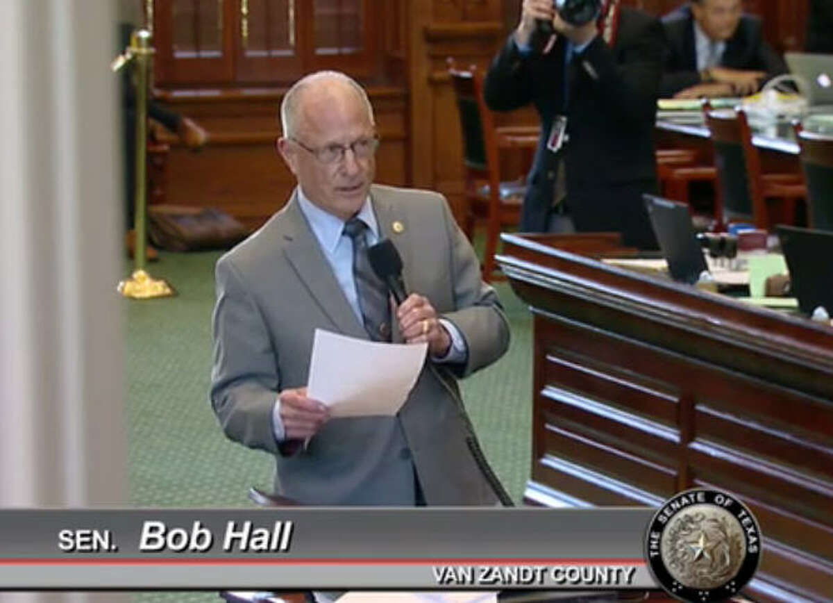 Sen. Bob Hall, R-Edgewood, was the first to file a bill related to mobile phone use for the upcoming special session.