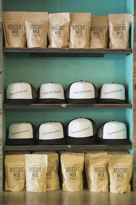 Big Bottom Market in Guernenville is a curated �lumberjack chic� artisan-stocked general store and market that offers pour-over coffee and gifts. Photo: Vivian Johnson, Special To The Chronicle