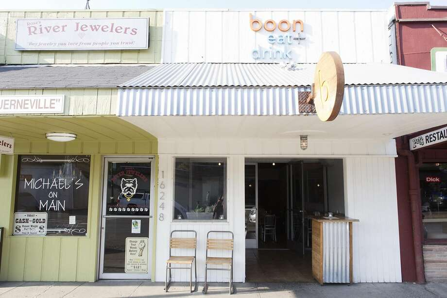 Boon Eat + Drink, in Guerneville Photo: Vivian Johnson, Special To The Chronicle