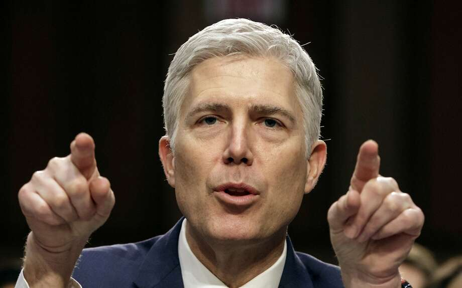 Neil Gorsuch Photo: J. Scott Applewhite, Associated Press