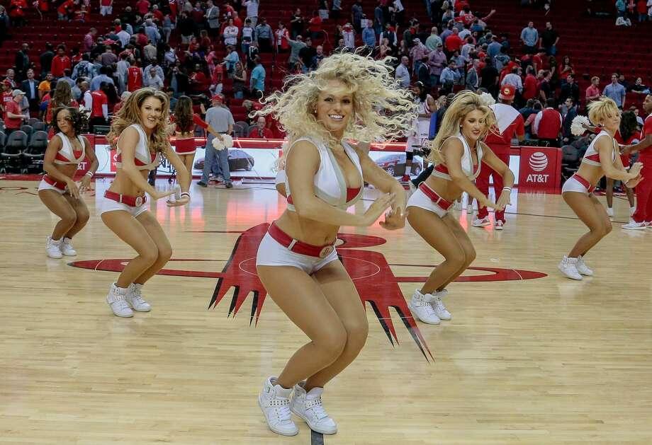 Houston Rockets Power Dancers Beaumont Enterprise