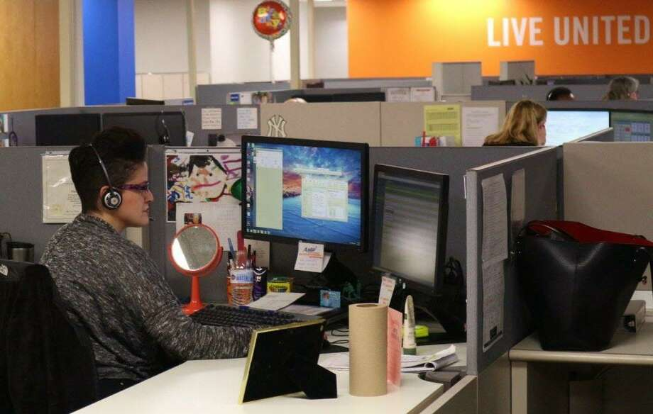 The United Way of Connecticut's 2-1-1 hotline receives hundreds of thousands of calls each year from residents in need of help. Photo: Contributed / Contributed