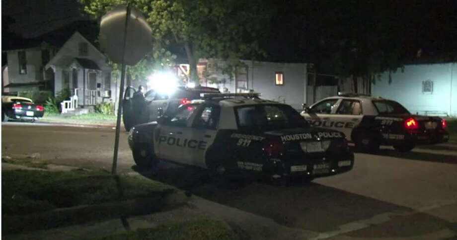 Houston police are looking for a man who shot and critically injured his girlfriend's brother in the chest, after an argument broke out between the two early Saturday morning. 