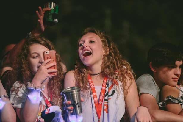 The 5th Annual Maverick Music Festival exploded Friday night, April 7, 2017, downtown for its first night of rock and punk to packed audiences.