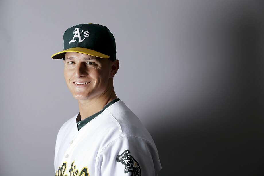 This is a 2016 photo of Matt Chapman of the Oakland Athletics baseball team. This image reflects the Oakland Athletics active roster as of Monday, Feb. 29, 2016, when this image was taken. (AP Photo/Chris Carlson) Photo: Chris Carlson, AP