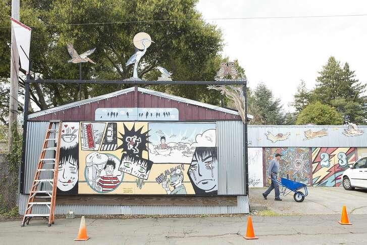 Art Alley in Santa Rosa