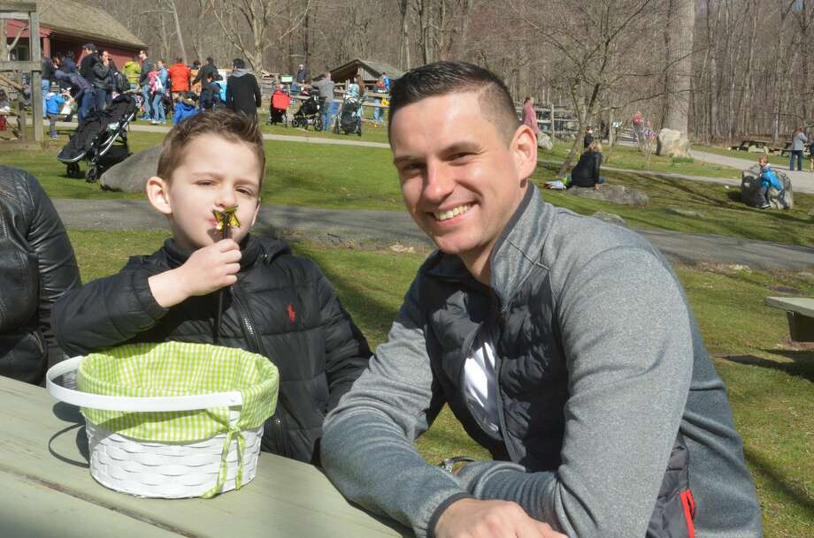 The annual Heckscher Farm Egg Hunt was held at the Stamford Museum and Nature Center on April 8, 2017. Children searched for hundreds of eggs hidden all over Heckscher Farm in exchange for a goodie bag. Were you SEEN? Photo: Vic Eng / Hearst Connecticut Media Group