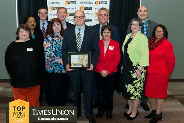 Were you Seen at the Sixth Annual Times Union Top Workplaces event held at the new Albany Capital Center in downtown Albany on Thursday, April 6, 2017?