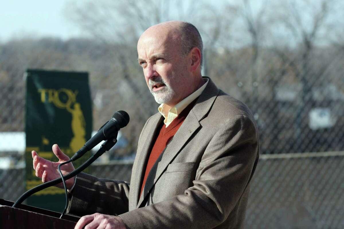 Troy Mayor Patrick Madden (Paul Buckowski / Times Union)