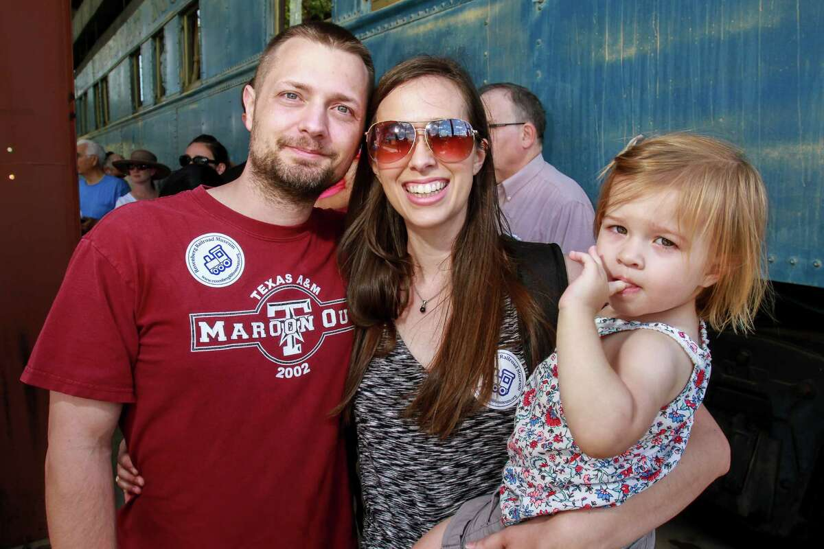 Scenes from the Rosenberg Railroad Museum's 10th annual RailFest. (For the Chronicle/Gary Fountain, April 8, 2017)