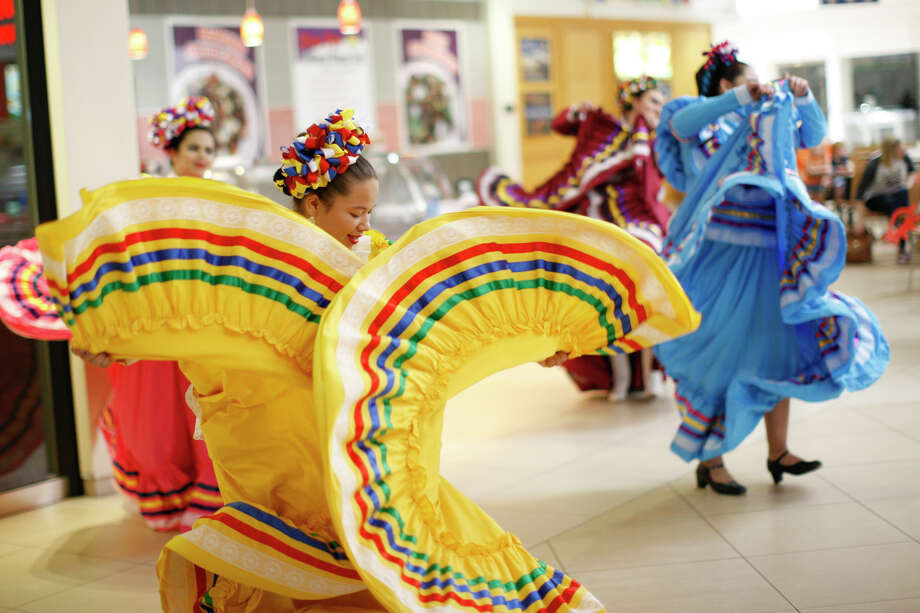 Dancers perform during the annual Bunny Breakfast hosted by the Midland Northside Lions Club on April 8, 2017, at Midland Park Mall. James Durbin/Reporter-Telegram Photo: James Durbin