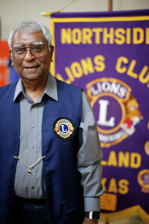 Mark Singh photograhed during the annual Bunny Breakfast hosted by the Midland Northside Lions Club on April 8, 2017, at Midland Park Mall. James Durbin/Reporter-Telegram Photo: James Durbin