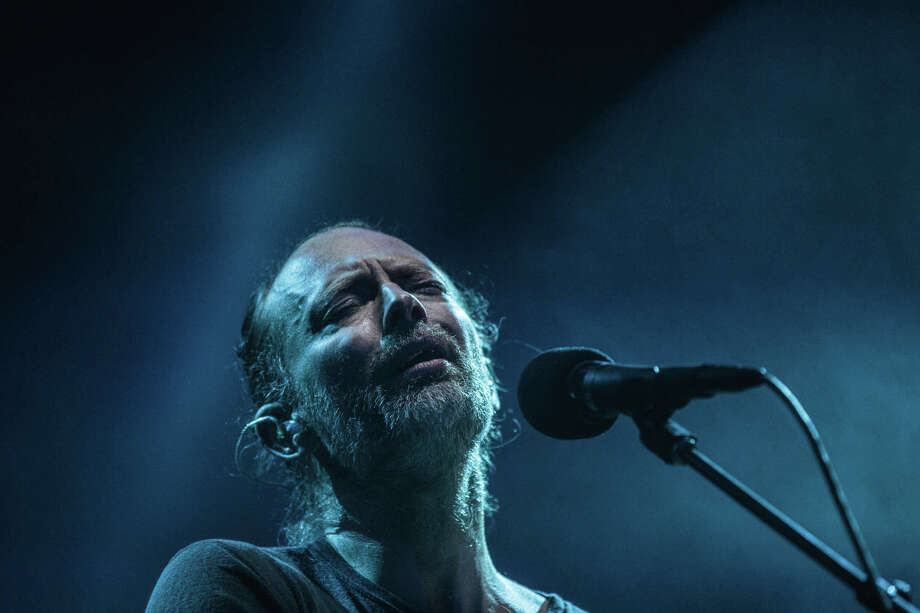 Thom Yorke of Radiohead performs at KeyArena in Seattle on Saturday, April 8, 2017. Photo: GRANT HINDSLEY, SEATTLEPI.COM / SEATTLEPI.COM