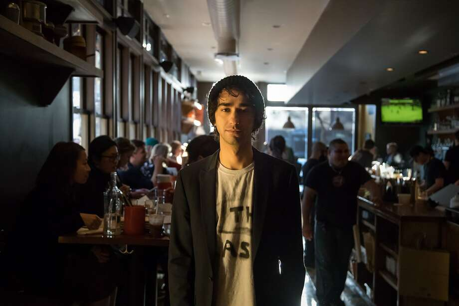 "Alex Wolff arrives at the afterparty for ""The House of Tomorrow"" at Tacolicious on Saturday, April 8, 2017 in San Francisco, Calif. Photo: Paul Kuroda, Special To The Chronicle"