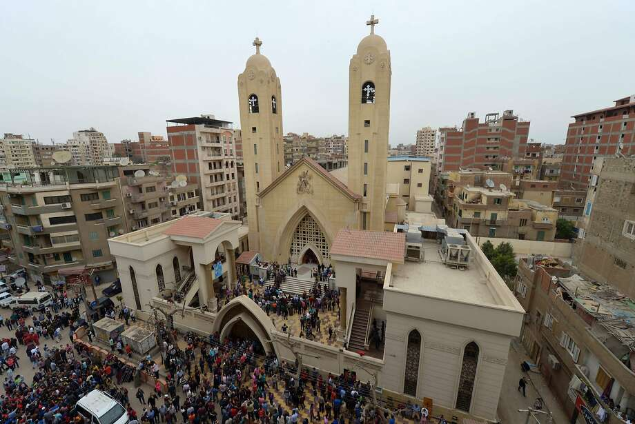 State of emergency in Egypt after IS church bombings kill 44