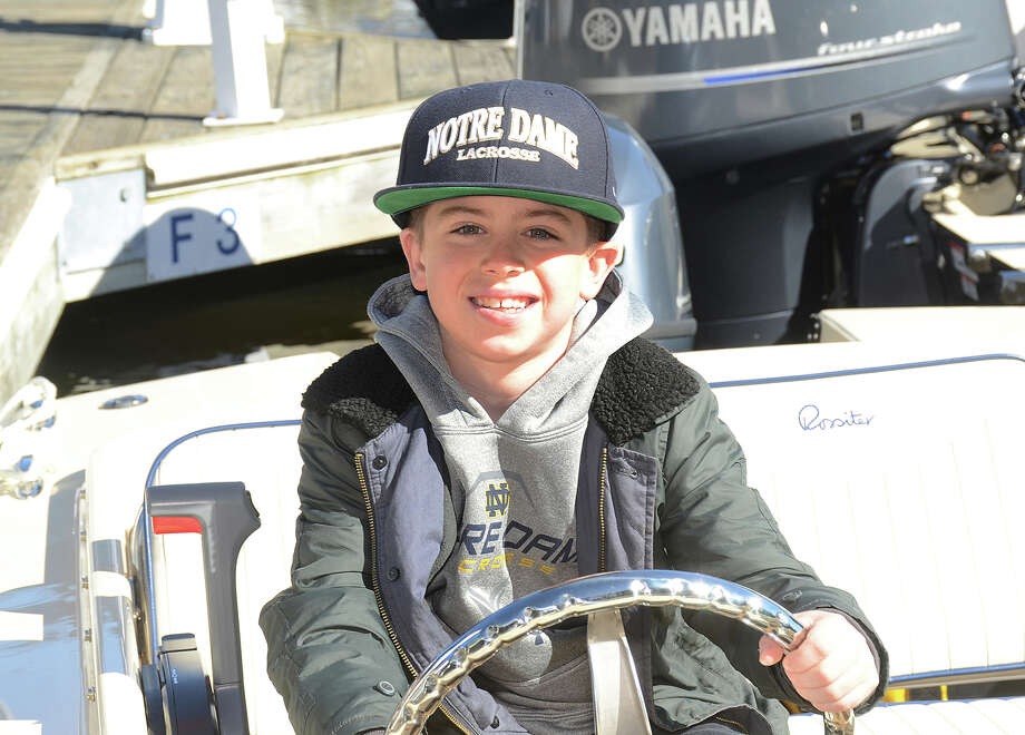 The Greenwich Boat Show, in its ninth year, will feature more than 100 new boats from almost 20 dealers and more than 40 brands. Every year it takes place on the Mianus River in Cos Cob in front of the Greenwich Water Club. Were you SEEN? Photo: J.C. Martin