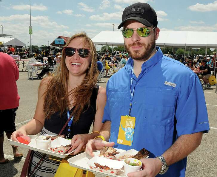 Guests at the Fifth Annual Barbecue Festival at NRG Park Sunday April 09, 2017.(Dave Rossman Photo)