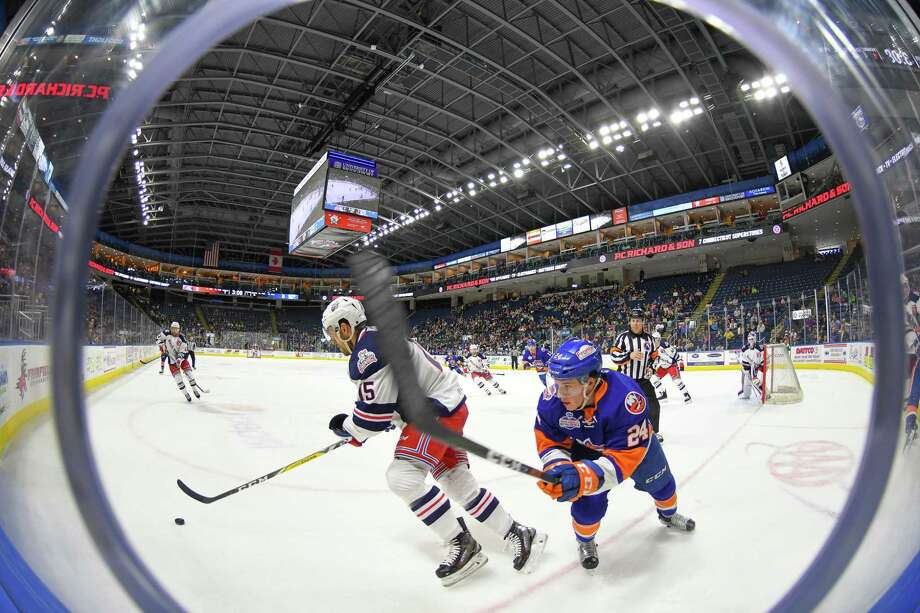 Get ready to howl at the top of your lungs when the Hartford Wolf Pack plays their last home game of the year against the Springfield Thunderbirds on Sunday. Find out more. Photo: Gregory Vasil, For Hearst Connecticut Media / Connecticut Post Freelance