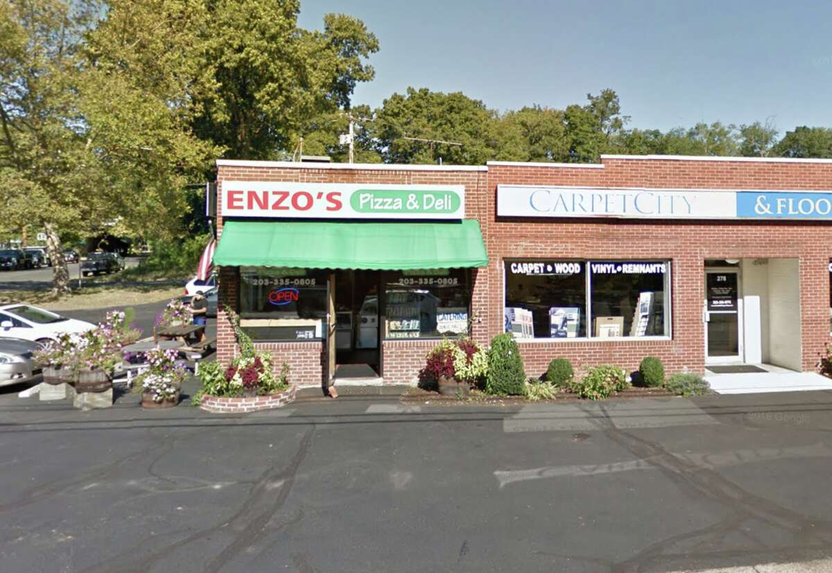 Enzo's Pizza and Deli 280 Kings Hwy Cutoff, Fairfield Score: 87/100 Last inspection date: October 18, 2016 Score and inspection date from the Fairfield Department of Health as of April 11, 2017.