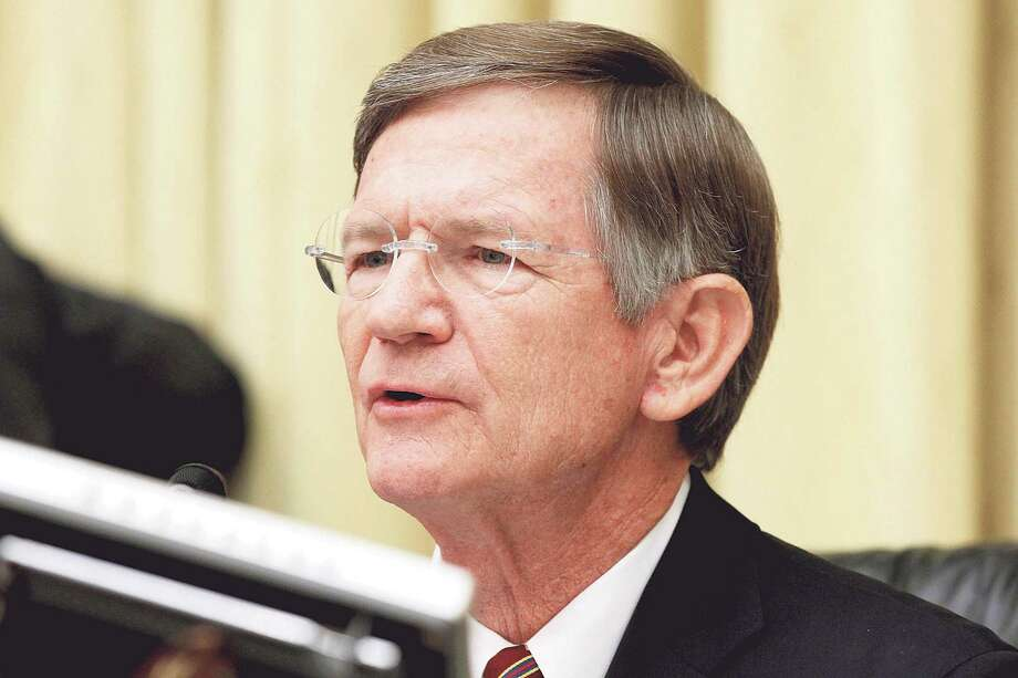 FILE - In this June 7, 2012 file photo,  House Science Committee Chairman Rep. Lamar Smith, R-Texas speaks on Capitol Hill in Washington. Escalating a political fight over global warming, Smith issued subpoenas Wednesday, July 13, 2016, to two Democratic state attorneys general, seeking records about their investigation into whether Exxon Mobil misled investors about global warming. (AP Photo/Charles Dharapak, File) Photo: Charles Dharapak, STF / AP2012