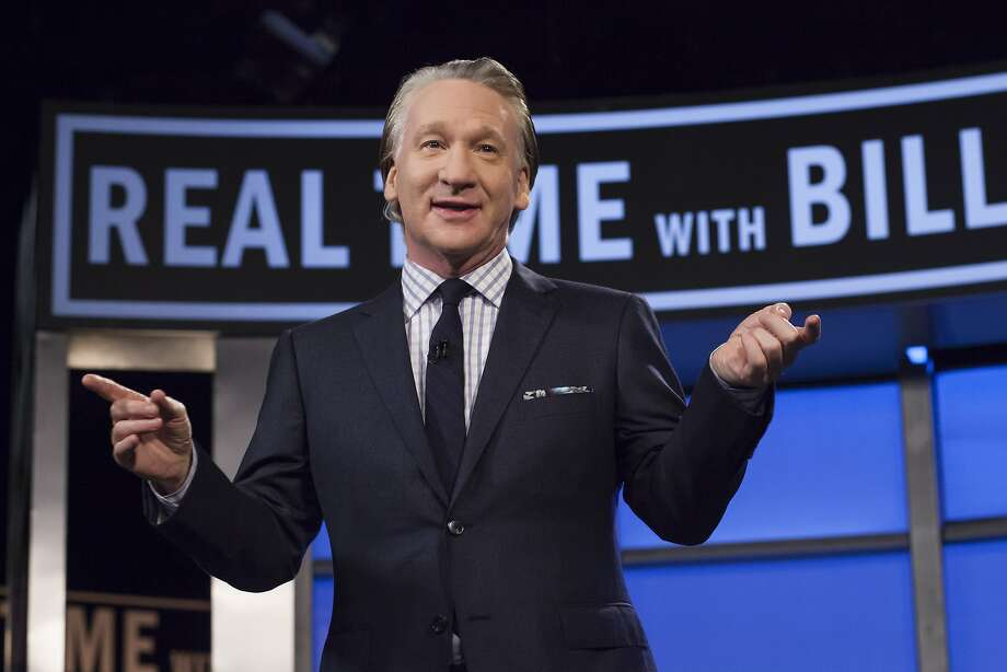 "Bill Maher leads humorous political discussions on HBO's ""Real Time."" Photo: Janet Van Ham, Associated Press"