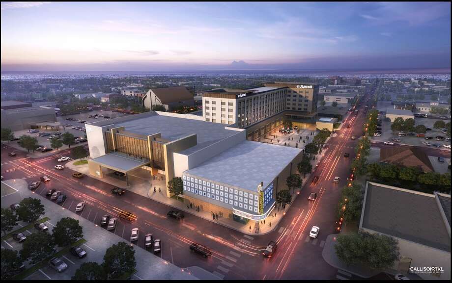 The project is expected to be completed and open in January 2019, according to the City of Odessa website. Photo: City Of Odessa/downtownodessatx.com