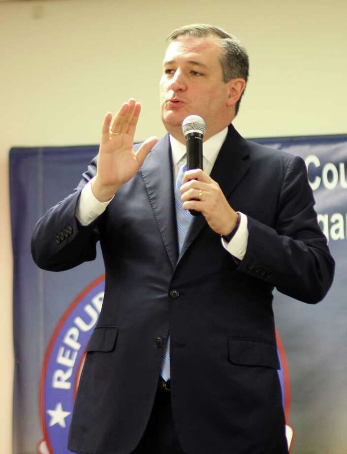 """U.S. Senator Ted Cruz isn't particularly popular with some of his Senate colleagues. U.S. Sen. Al Franken, D-Minn., even dedicated an entire chapter of his new book """"Giant of the Senate"""" to how much he dislikes Cruz. Photo: Vanesa Brashier"""