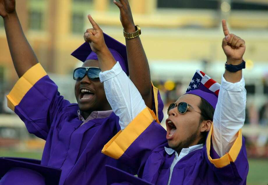 FILE — Westhill High School Class of 2016 commencement at the school in Stamford, Conn., on Wednesday, June 15, 2016. Photo: Matthew Brown / Hearst Connecticut Media / Stamford Advocate