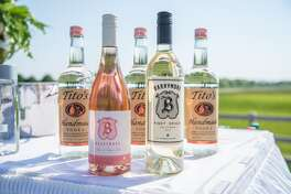 SAGAPONACK, NY - MAY 28: Actress Drew Barrymore's Wine: Rose of Pinot Nior and Pinot Grigio at the Hamptons Magazine Memorial Day Soiree on May 28, 2016 in Sagaponack, New York. (Photo by Mark Sagliocco/Getty Images)