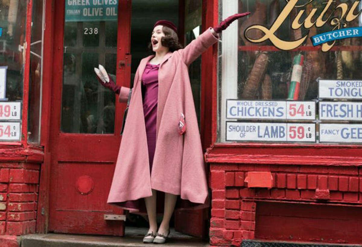 Rachel Brosnahan, The Marvelous Mrs. Maisel   Photo Credits: Sarah Shatz/Amazon