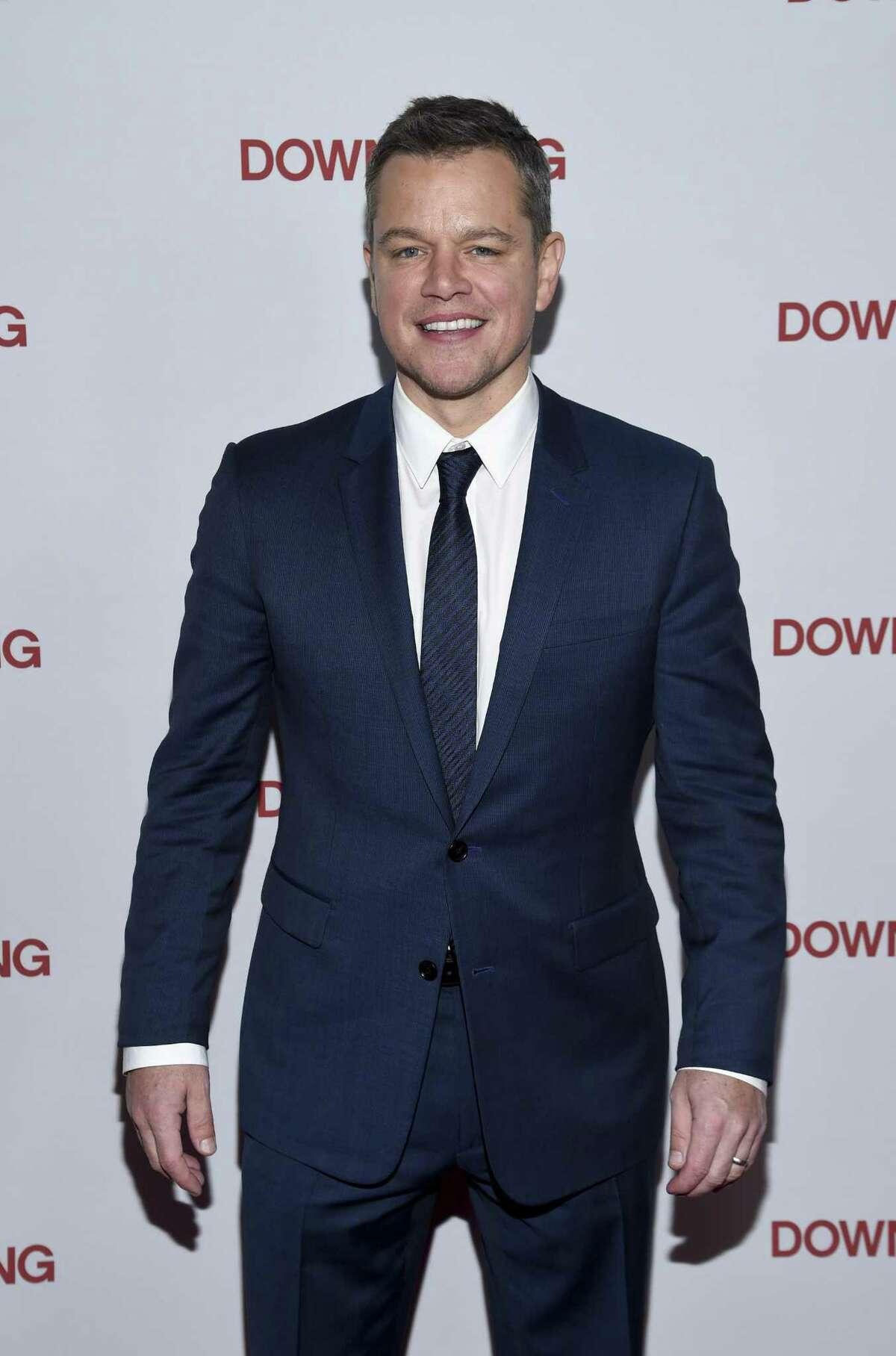 Actor Matt Damon, shown here at a special screening of