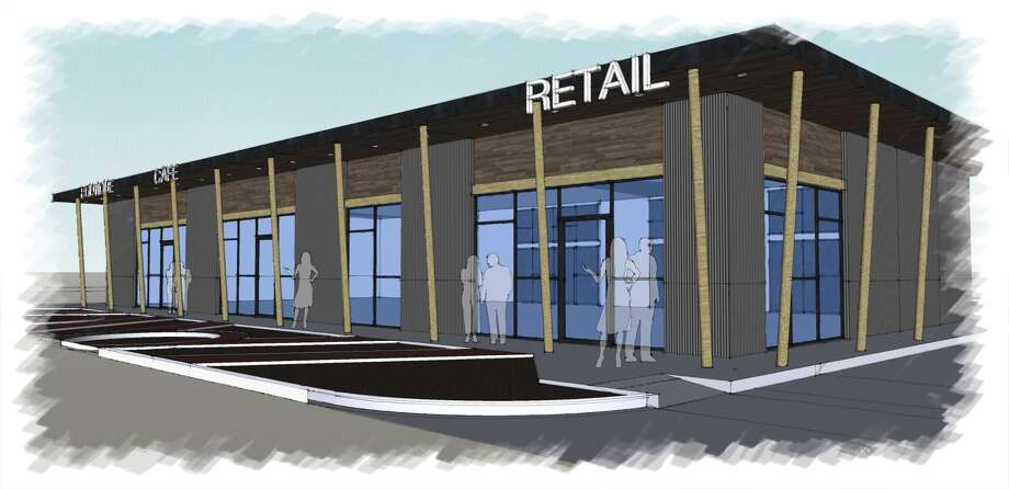 Braun Enterprises will break ground on a 4,300 retail building at 403 W. Gray.  Viet's Express and Feather & Fur Animal Hospital will occupy the building, which is adjacent to the Ship & Shield pub. Photo: Braun Enterprises