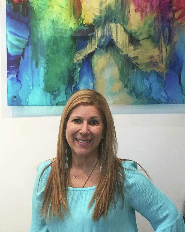 Local artist Carol Simon will open her studio to the public on Saturday, April 22 Photo: Carol Simon