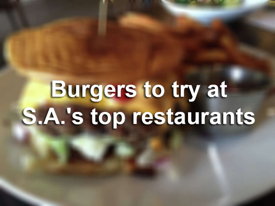 Though simple in concept, some of San Antonio's best restaurants have made culinary masterpieces out of burgers.See the burgers you can try at 13 of San Antonio's best restaurants. Photo: Edmund Tijerina/San Antonio Express-News