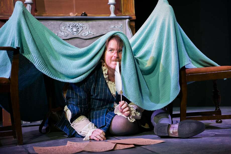 """Ben Knoll as Humphrey Bludgepot in CCCT's """"The Lost Years."""" Photo: Ben Krantz, Contra Costa Civic Theatre"""
