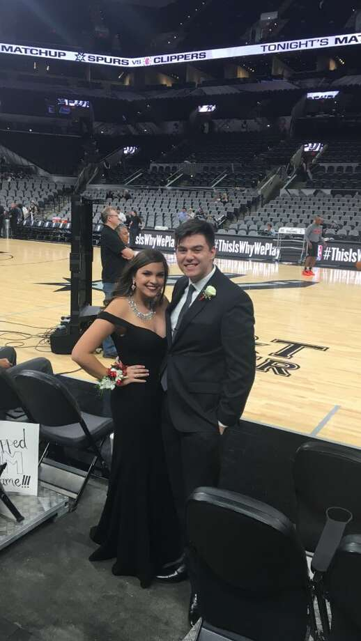 Churchill High School Teens Ditch Prom To Sit Courtside At Spurs