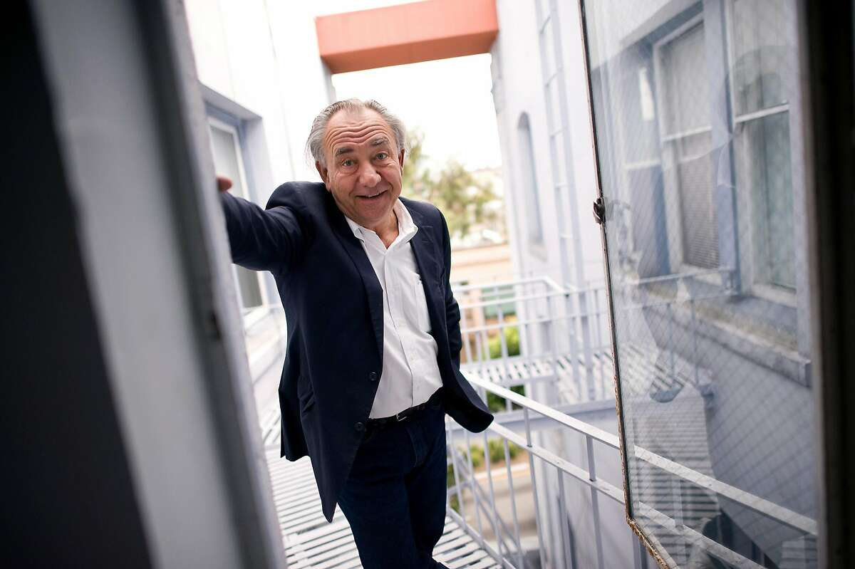 Political comedian William Durst poses for portraits at his office on Van Ness in San Francisco, CA, November 8th, 2012.