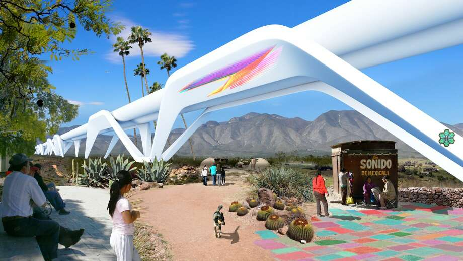 "Hyperloops could be the way to travel in the future, with no turbulence and a speed of 750 mph and beyond. But we still don't even have bullet trains in the U.S. Click through to see hyperloop photos and renderings, as well as a variety of high-speed trains dating back to varieties we might not think of as so ""high-speed"" today. Photo: Otra Nation"