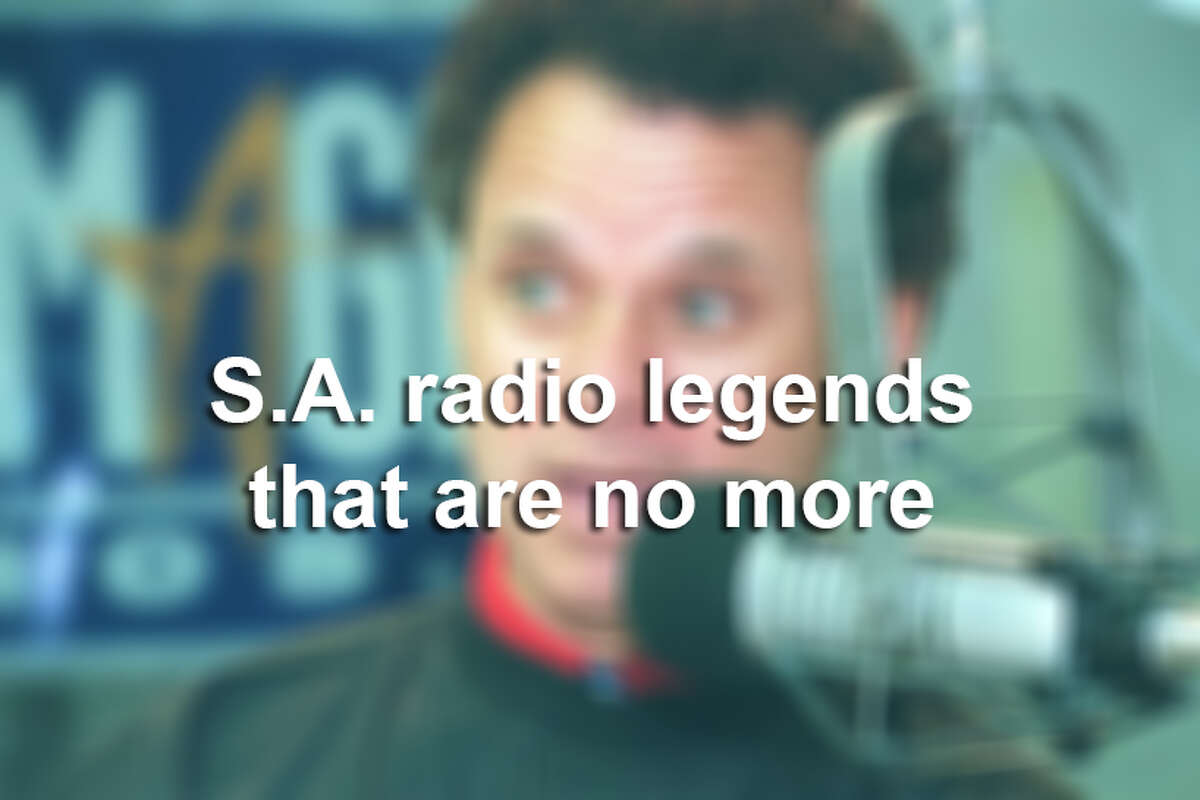 Keep clicking to see San Antonio's radio legends that are long gone.