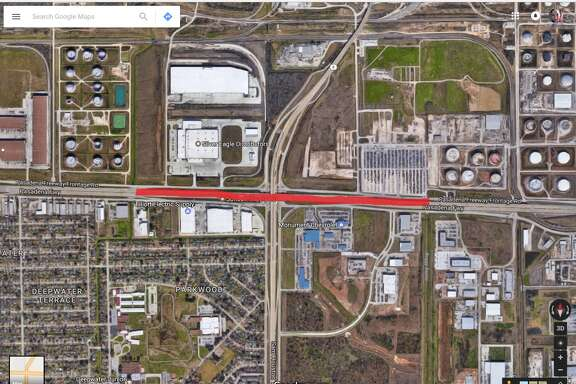 Highway 225 at Beltway 8  