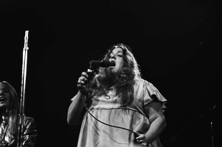 MONTEREY CA - JUNE 18:  Cass Elliot of The Mamas & The Papas performs on stage at the Monterey Pop Festival on June 18 1967 in Monterey, California. (Photo by Michael Ochs Archives/Getty Images) Photo: Michael Ochs Archives, Getty Images