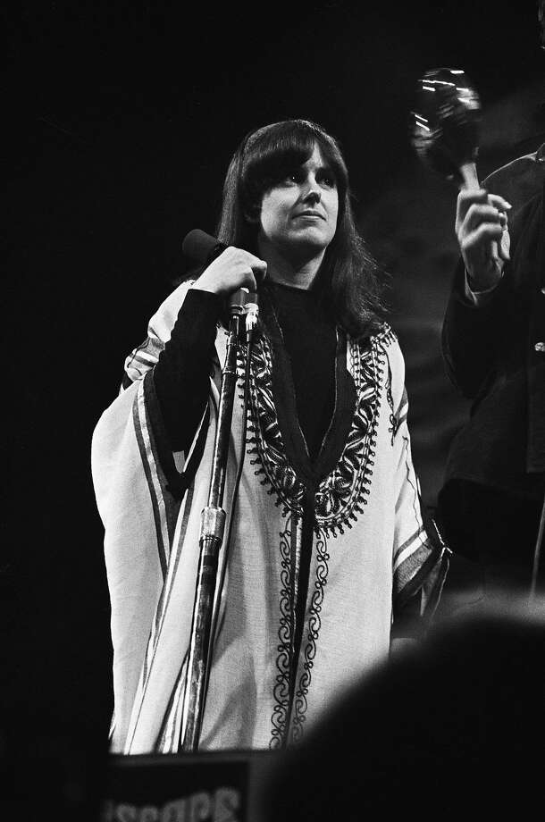 Grace Slick performs with Jefferson Airplane at the Monterey International Pop Festival in 1967. Photo: Michael Ochs Archives, Getty Images