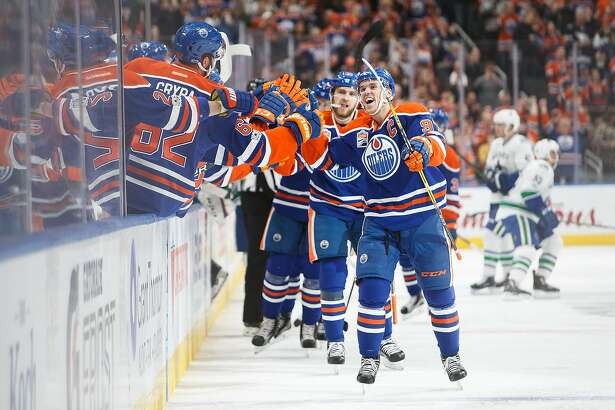 Sharks Know They'll Have Their Hands Full With McDavid And Oilers - SFGate
