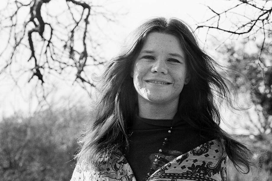 "Janis Joplin is featured in ""Lavender-Tinted Glasses."" Photo: Lisa Law, Courtesy Of The GLBT History Museum."