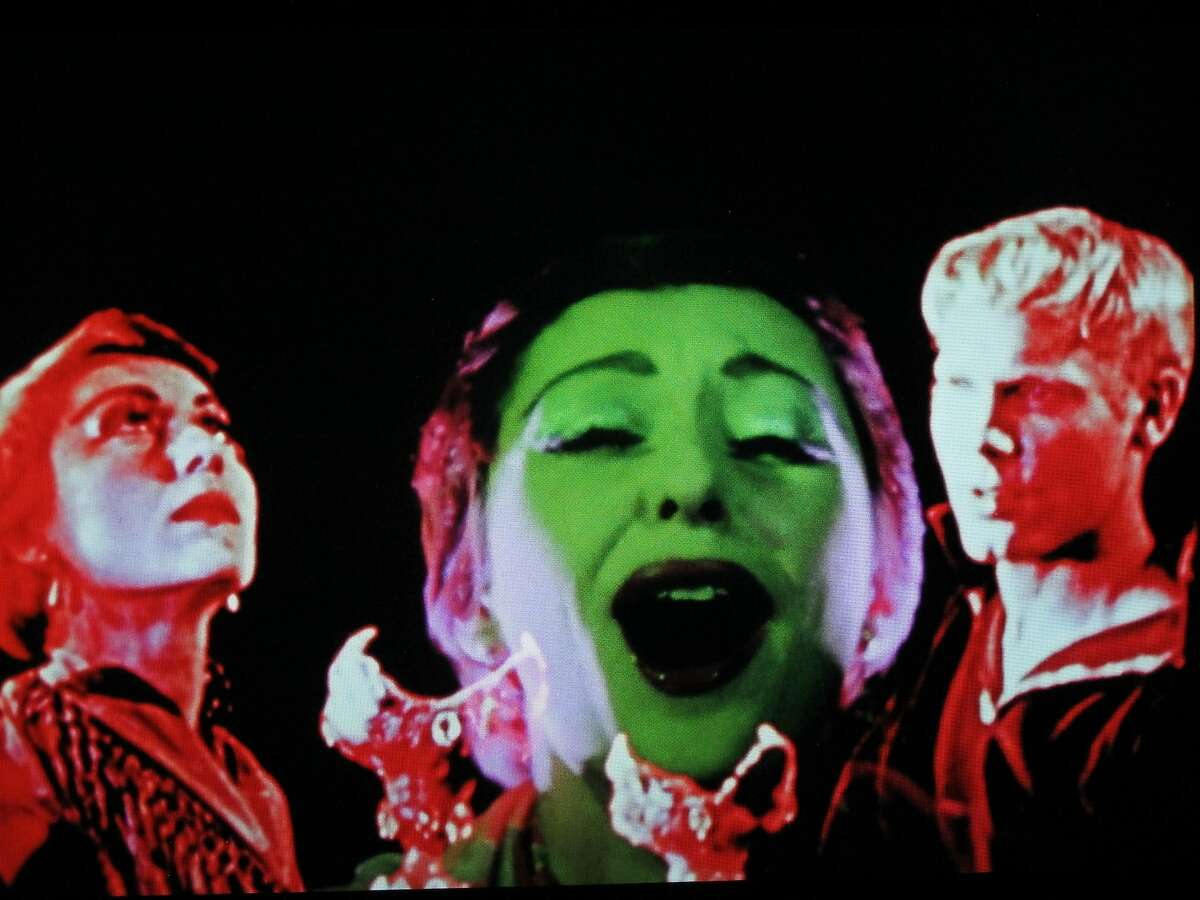 """A still from Kenneth Anger's film """"Inauguration of the Pleasure Dome."""""""