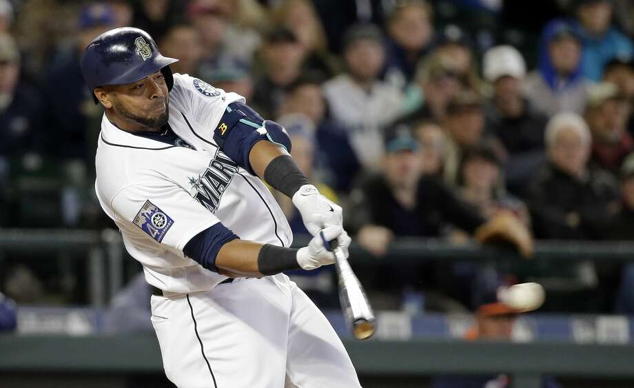 Mariners DH Nelson Cruz won his second Silver Slugger award Thursday. Check out our season grades for Cruz and the rest of the M's in the following gallery. Photo: Elaine Thompson/AP